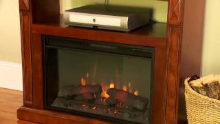 Classicflame Fairmont Electric Fireplace Media Console 26de1247vma-313
