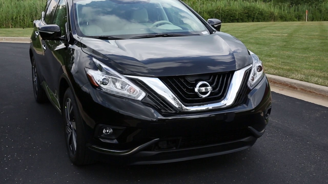 2017 nissan murano hood release youtube. Black Bedroom Furniture Sets. Home Design Ideas