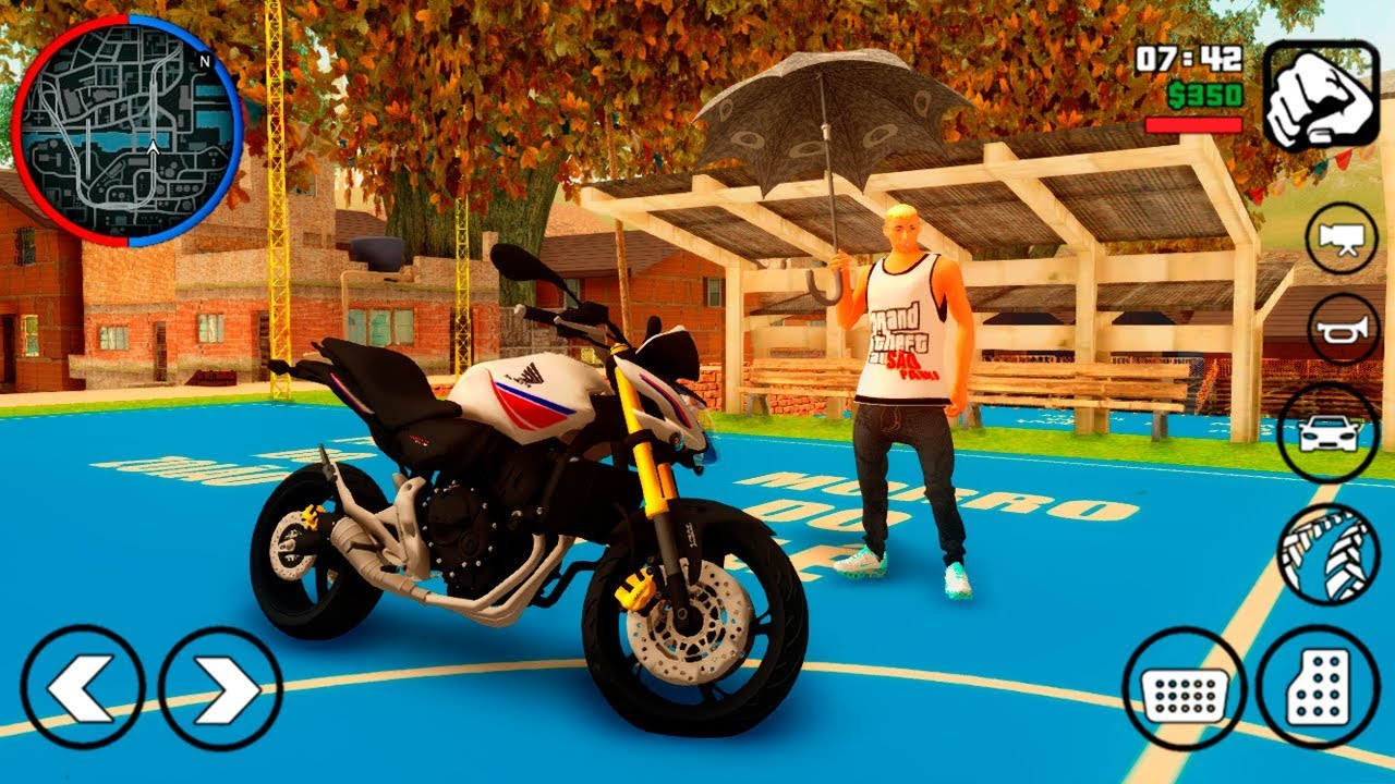 BAIXAR GTA SAN ANDREAS MOTOVLOG LITE PARA ANDROID (100MB) DOWNLOAD APK+DATA  #Smartphone #Android