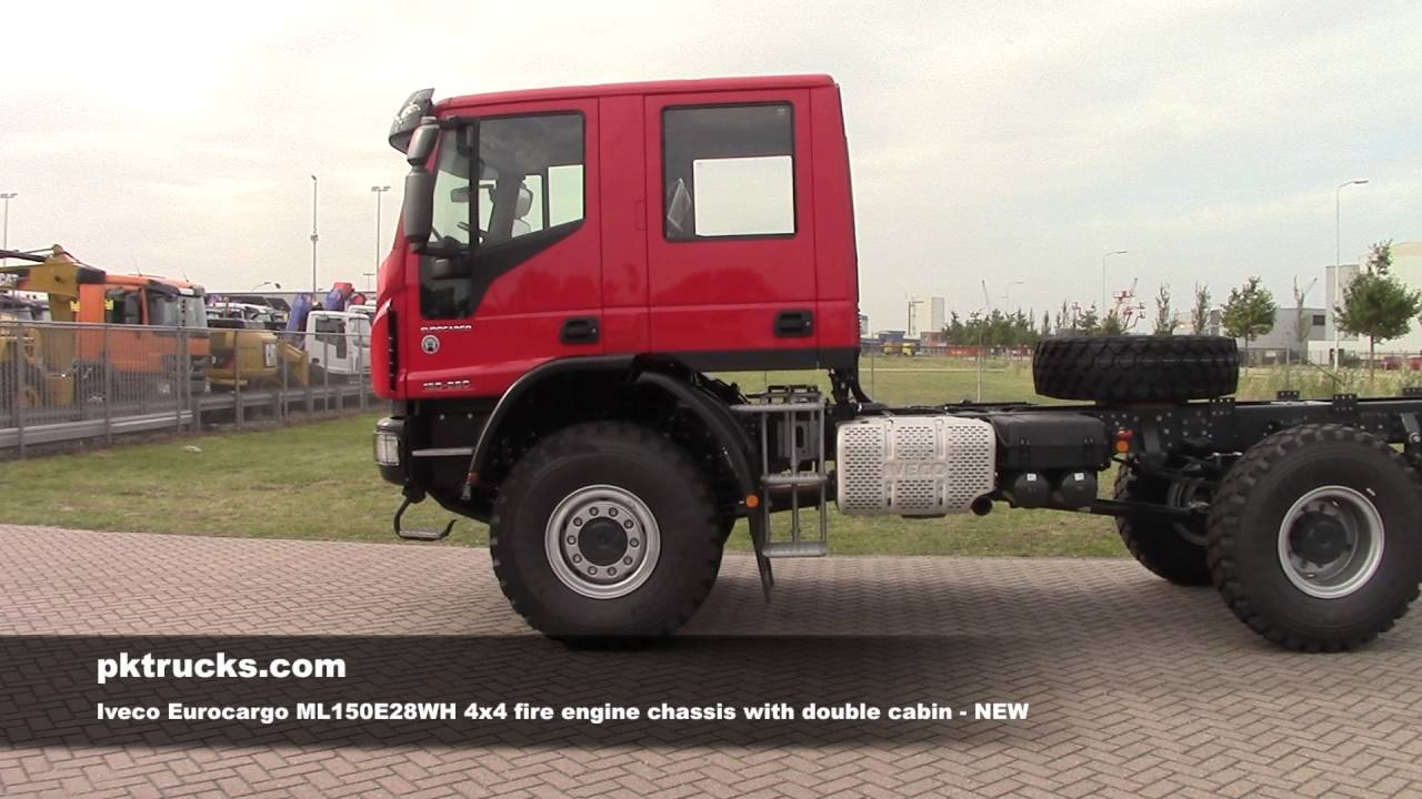 iv3815 iveco eurocargo ml150e28wh fire engine chassis youtube. Black Bedroom Furniture Sets. Home Design Ideas