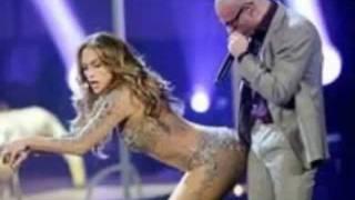 Repeat youtube video Jennifer Lopez provoca erezione a Pitbull