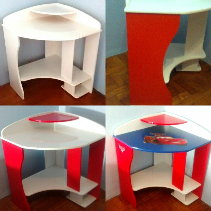 Como fazer uma mesa de computador infantil youtube - Mesas infantiles de plastico ...