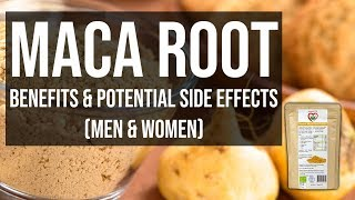 Benefits of Maca Root Powder & Potential Side effects in Hindi (Men & Women)