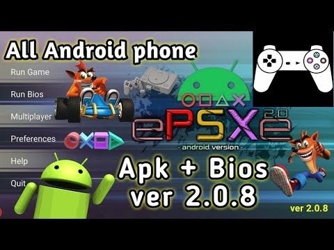 How To Download EPSXe 2.0.8 [PS1] Emulator Apk + Bios On Android