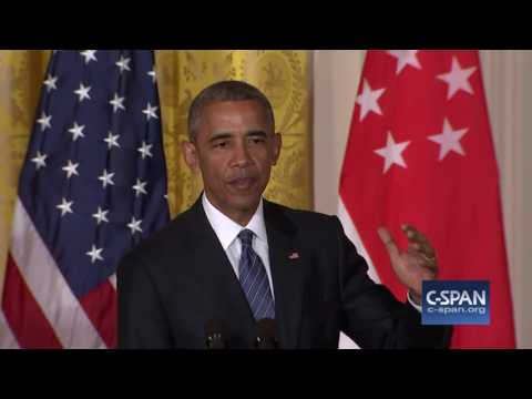 "President Obama: ""Yes, I think the Republican nominee is unfit to serve as President."" (C-SPAN)"