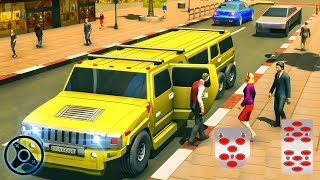 Big City Limo Car Driving Simulator - Limousine Parking Game   Android Gameplay screenshot 5