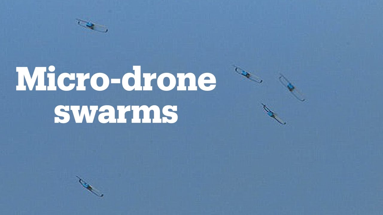 US To Release Swarms Of Micro Drones