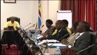 Omukulembeze W'eggwanga Yoweri Kaguta Museveni Azzemu Ababaka