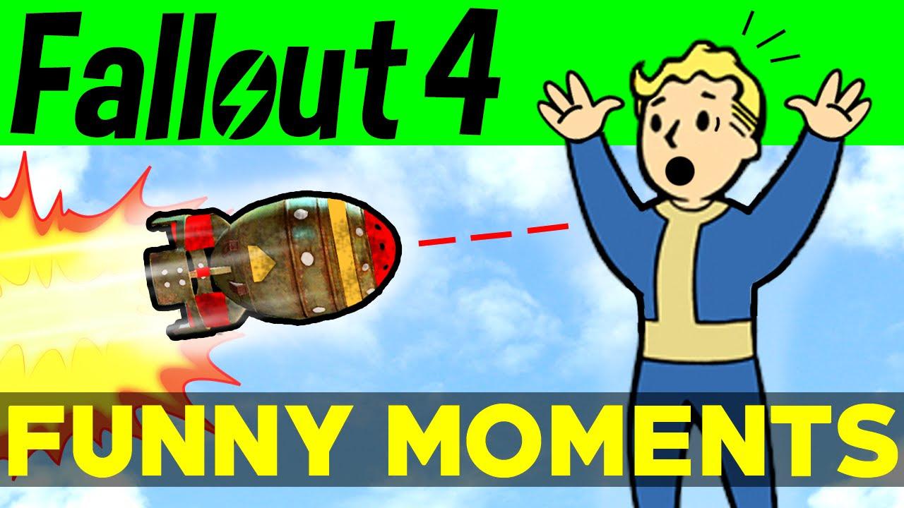 Fallout 4 Funny Moments  EP2 FO4 Funny Moments Mods Fails Kills Fallout 4 Funtage