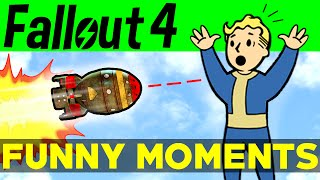 Fallout 4 Funny Moments - EP.2 FO4 Funny Moments, Mods, Fails, Kills, Fallout 4 Funtage