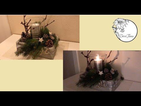 diy winterdeko weihnachtsdeko selber machen have fun deko jana youtube. Black Bedroom Furniture Sets. Home Design Ideas