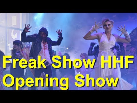 Freak Show - Halloween Horror Festival 2019 - Opening Show Halloween - Movie Park Germany 2019 - HHF