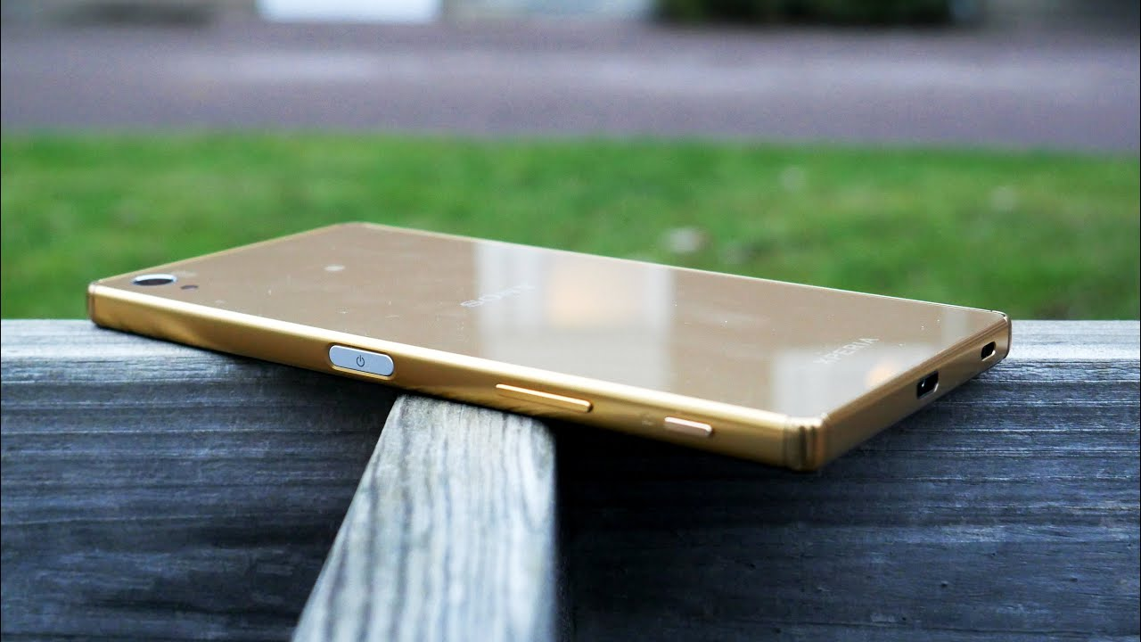 Sony xperia z5 premium review gold edition with 4k youtube ccuart Choice Image