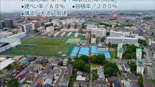 習志野市泉町2丁目にて36区画の大型分譲地が販売開始! ドローンを使用...