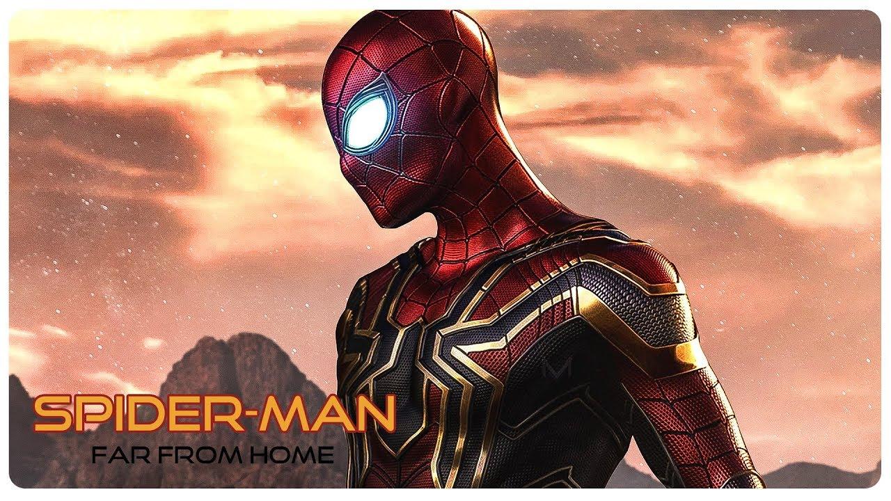 SPIDER MAN FAR FROM HOME Teaser (2019) Tom Holland Superhero Movie HD