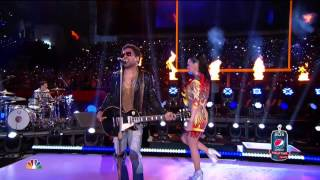 2015 Pepsi Super Bowl Halftime - Lenny Kravitz and Katy Perry