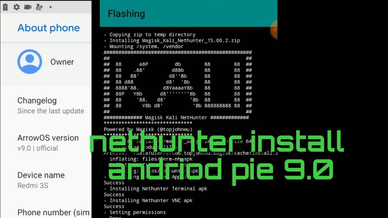 How To Install Nethunter Android Pie 9 0  - Travel Online