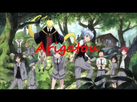 Assassination Classroom: Tabidachi No Uta(lyrics)