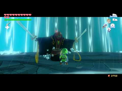 The Legend of Zelda : Wind Waker HD - Final Bosses and Ending