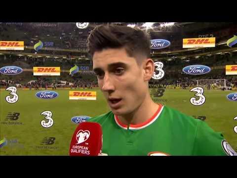 Republic of Ireland v Moldova - post-match interview - Callum O'Dowda (6/10/17)