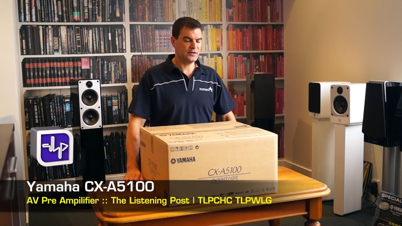 Yamaha Cx A5100 Av Preamplifier Unboxing The Listening Post Tlpchc Tlpwlg