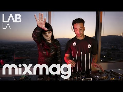 LAIDBACK LUKE B2B GINA TURNER tech house DJ set in The Lab LA