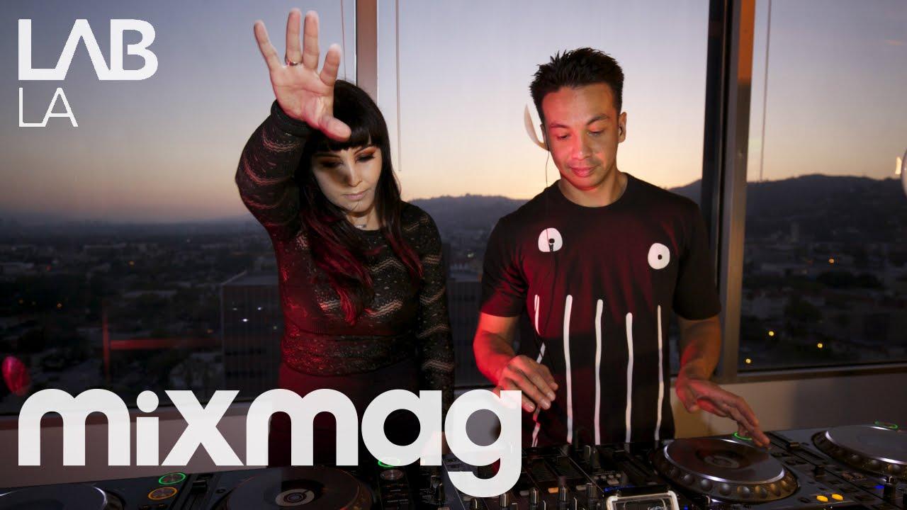 LAIDBACK LUKE B2B GINA TURNER tech house DJ set in The Lab LA #1
