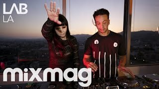LAIDBACK LUKE B2B GINA TURNER tech house DJ set in The Lab LA
