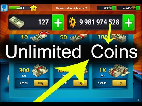 8 Ball Pool Unlimited Coins Cash For Ower Subbscriber