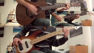 74 75 the connells   guitar bass cover with notes tab