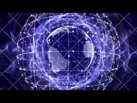 Earth, Connection Network Concept, Animation, Rendering Background, Loop, 4k
