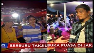Suasana Berbuka Puasa di Pusat Takjil Jalan Panjang dan Masjid Al-Azhar - iNews Sore 12/05
