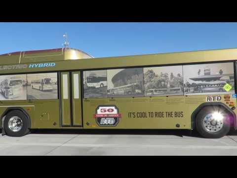 Motor Bus Society 2016 Fall Convention Sacramento, CA  San Joaquin RTD, Stockton, CA