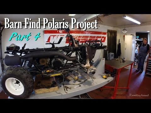 Barn Find Polaris Project Part 4