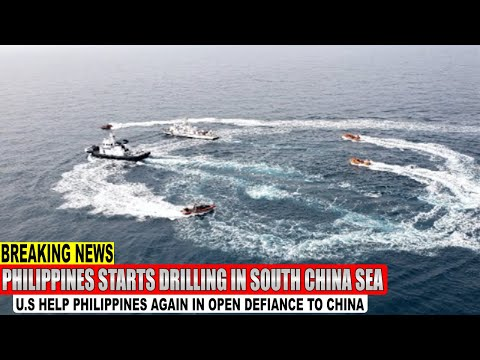 China Angry: The Philippines Starts Drilling in South China Sea Again in Open Defiance to China