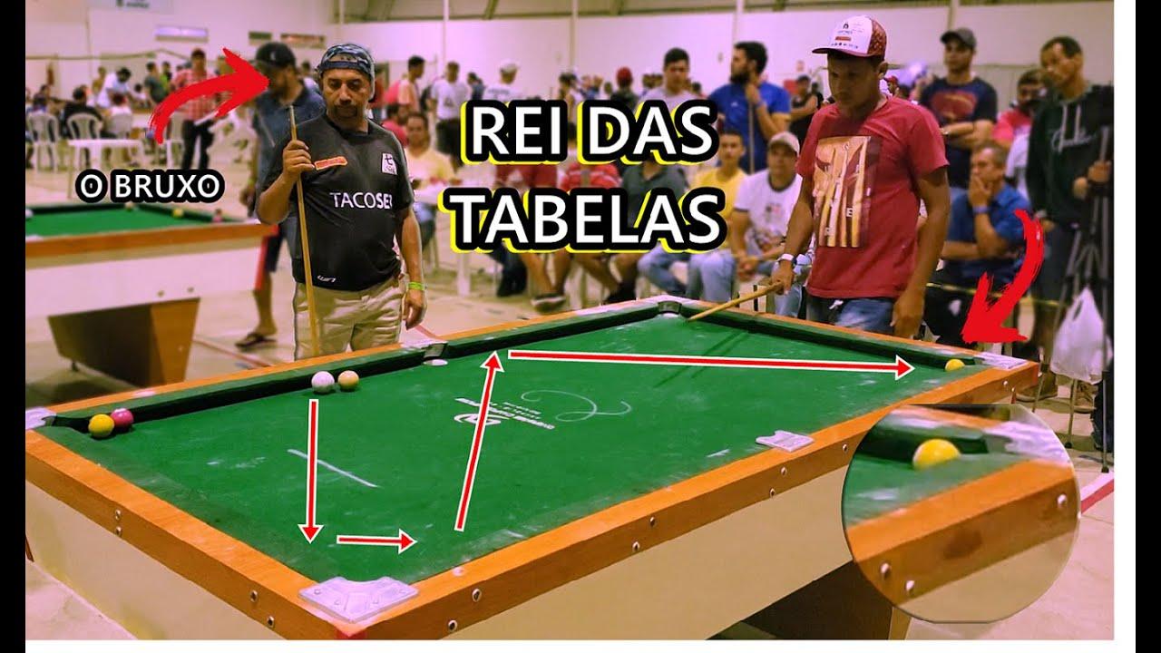 BAIANINHO O REI DAS TABELAS DE SINUCA!