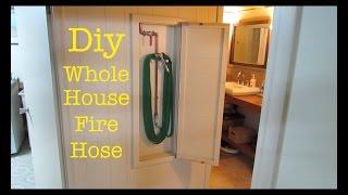 Make an ● Emergency Fire Hose inside Your House!!