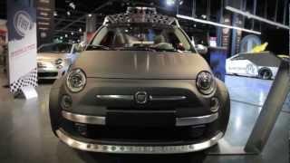 Fiat 500 SEMA Show Concept Cars - 2012 SEMA Show