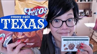 Emmy Eats Texas - Tasting Texan Snacks & Sweets
