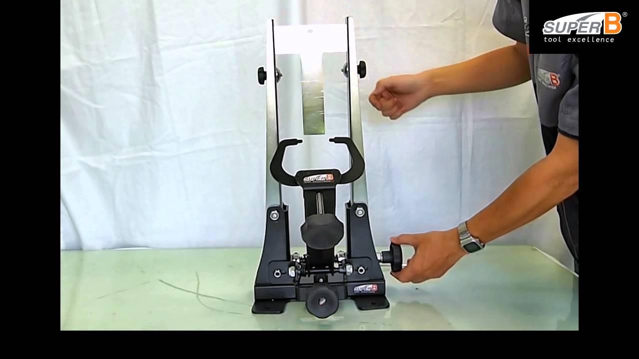 BIKEHAND Bike Bicycle Wheel Centering Alignment Gauge Tool