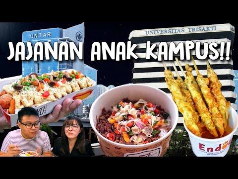 Tempat Makan Hits Di Kampus Jakarta Barat Youtube