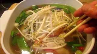 How Make Best Pho Ga Vietnamese Chicken Noodle Soup