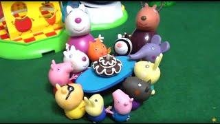 Peppa Pig свинка Пеппа и ее друзья. Мультфильм для детей. День Рождения овечки Сьюзи