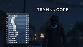 TRYH Vs COPE (crew War) We Tied