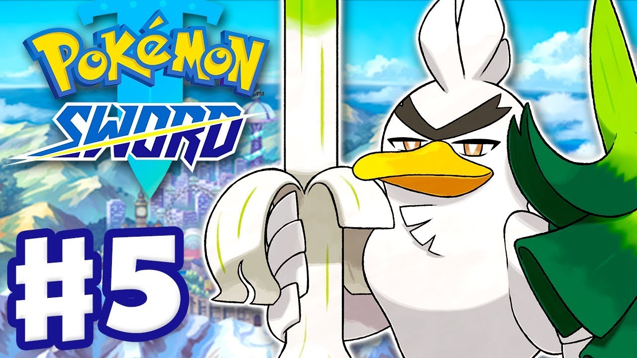 Download Galarian Farfetch'd Evolves into Sirfetch'd - Pokemon Sword and Shield - Gameplay Walkthrough Part 5