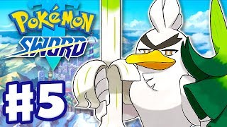 Galarian Farfetch'd Evolves into Sirfetch'd - Pokemon Sword and Shield - Gameplay Walkthrough Part 5