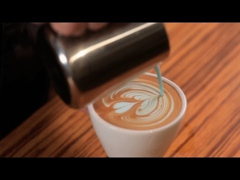 How to Do Colored Latte Art | Latte Art
