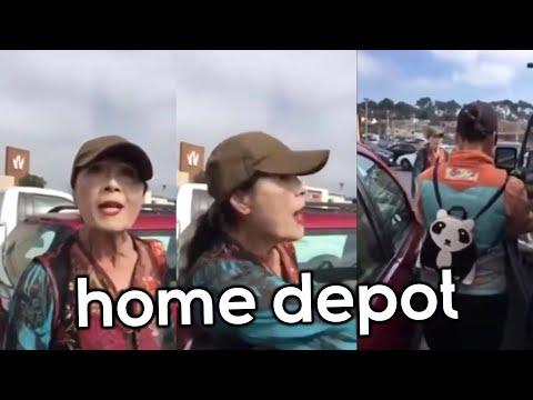 Karen Has A Meltdown At Home Depot