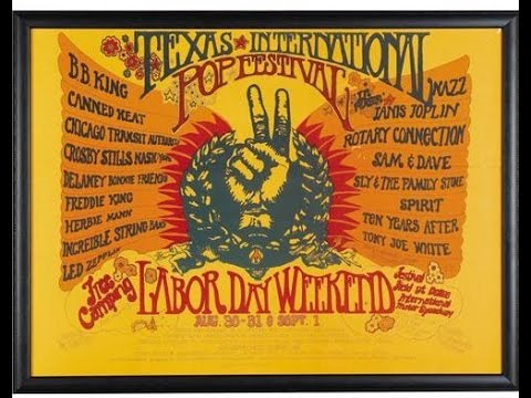 Led Zeppelin Live Bootleg August 31, 1969 Texas International Pop Festival