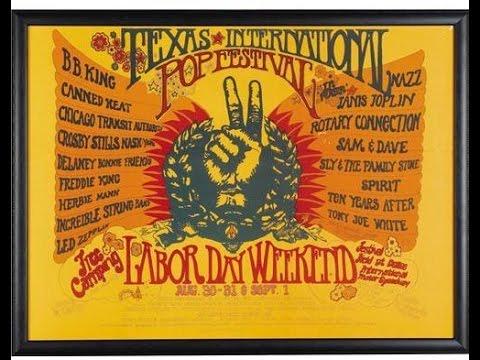 Led Zeppelin Live Bootleg August 31, 1969 Texas International Pop Festival